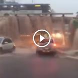 A mão de jogar o carro na pocinha de água chega a tremer