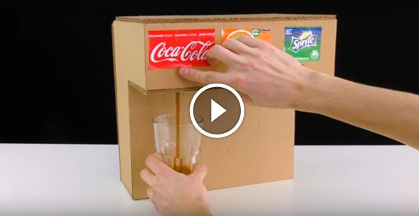 Como fazer uma máquina de refrigerante em casa