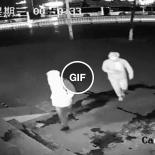 Parando um roubo em andamento com a cabeça