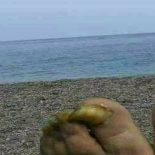 Aqui de boa curtindo a brisa da praia…
