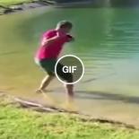 Golfe é um esporte bem mais perigoso do que eu imaginava
