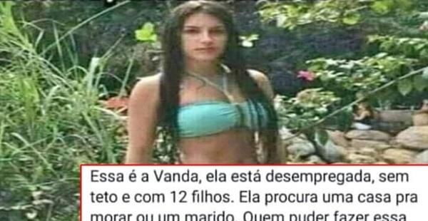 Vanda está a procura de um marido