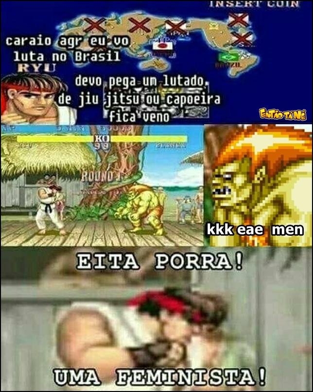 Eis que o Ryu chega no Brasil
