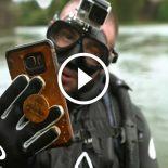Esse mergulhador encontrou 8 armas, 7 iPhones, 6 GoPros e 5 Apple Watches em seus mergulhos