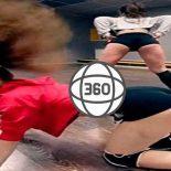 Essa dança de mexeção de bunda gravado em 360 VR, é o melhor vídeo que você verá hoje!