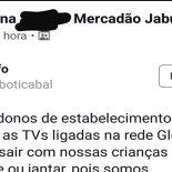 Rede Globo mau elemento